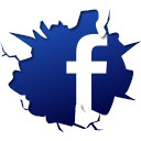 facebook icontexto inside icon
